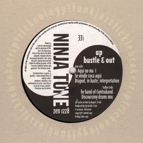 Contraband - Up, Bustle & Out